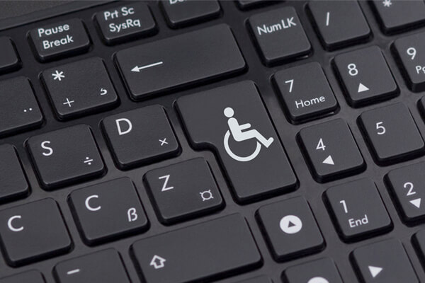 Disability friendly websites