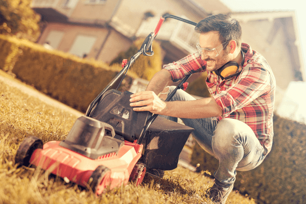 hearing loss protection during yardwork