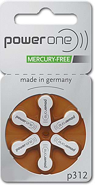 Size 312 Hearing Aid Batteries-1