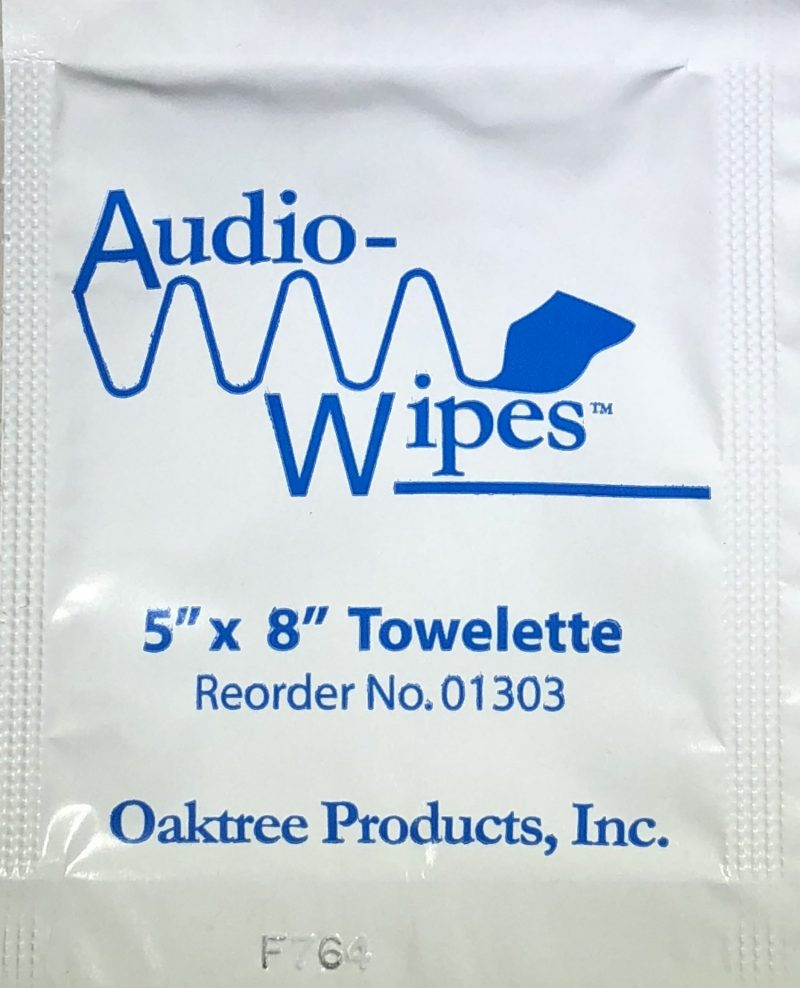 Audiowipes - Pack of 4-0