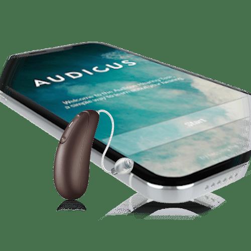 Audicus Wave black-battery