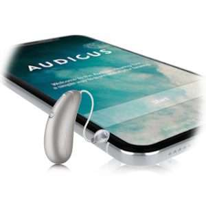 the wave hearing aid and iphone