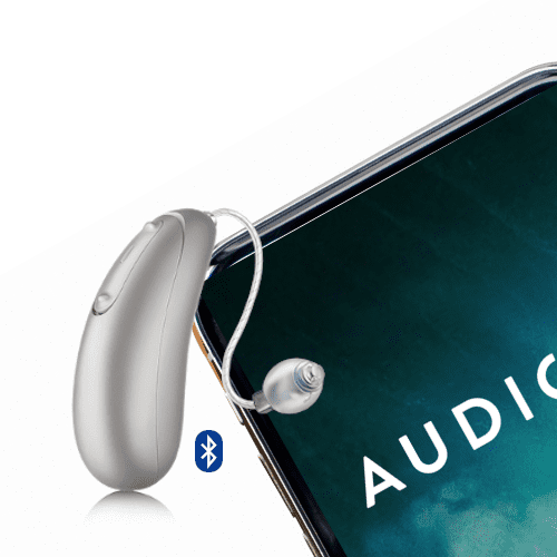 Meet the new Audicus Wave hearing aid