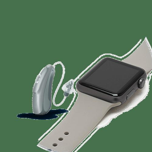 Audicus Clara silver-battery