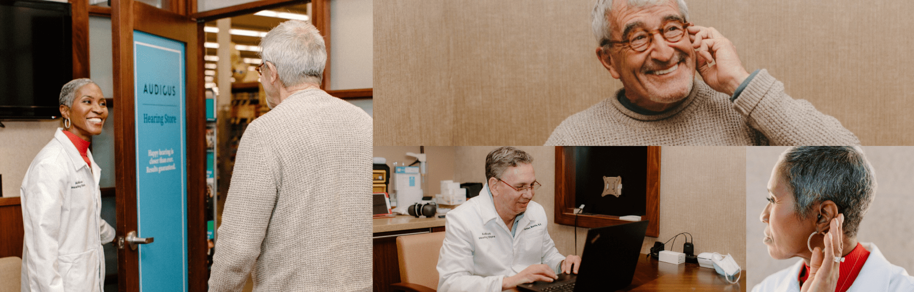 Images from our Denver hearing clinic - come visit!