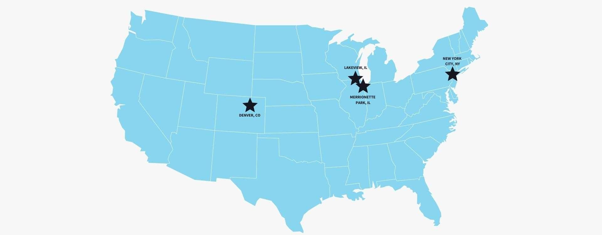 Audicus clinics map