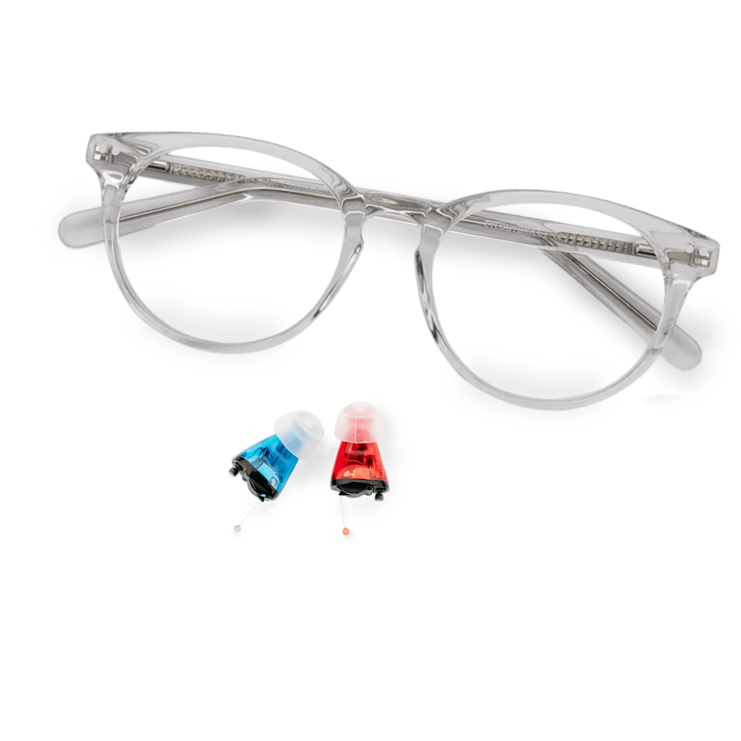 The Aura with glasses