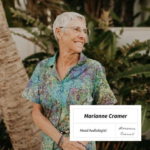 Marianne Cramer, Head Audiologist at Audicus